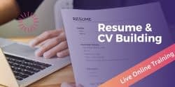 Resume and CV WritingExplore